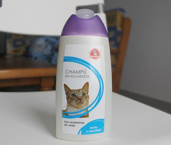 Champú sin aclarado para gatos de arppe