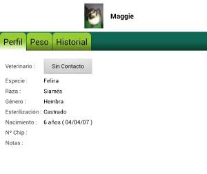 Pet Manager aplicación movil